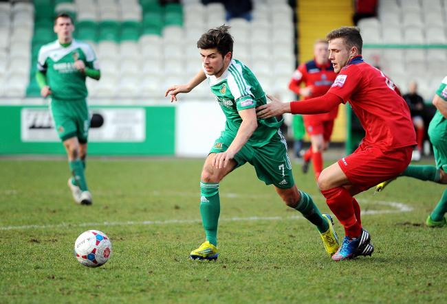 Avenue old boy Jordan Deacey was in the North Ferriby United side that embarrassed his former club