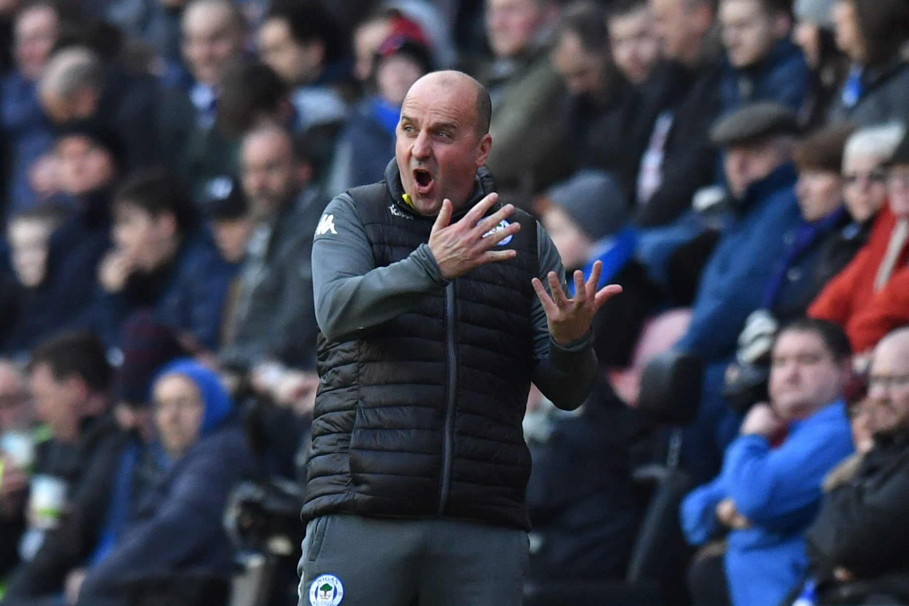 "SPARKY: Wigan boss Paul Cook wants his side to rediscover their ""mojo"""