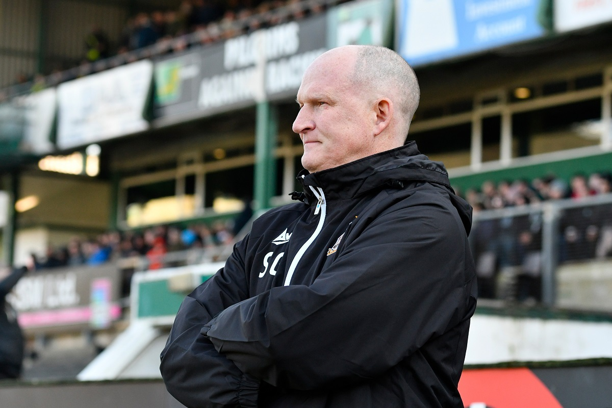INTO THE VALLEY: Simon Grayson will finally stand in front of the home dugout tonight after a month as City boss