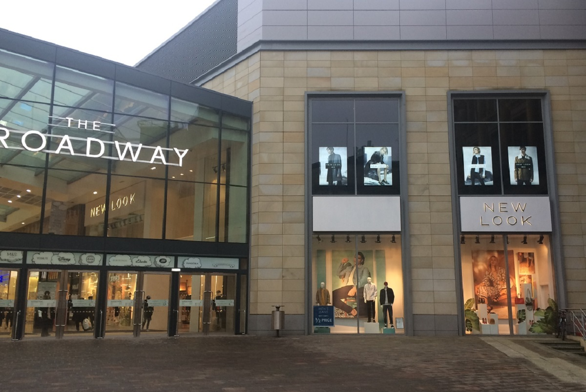 The New Look store at The Broadway