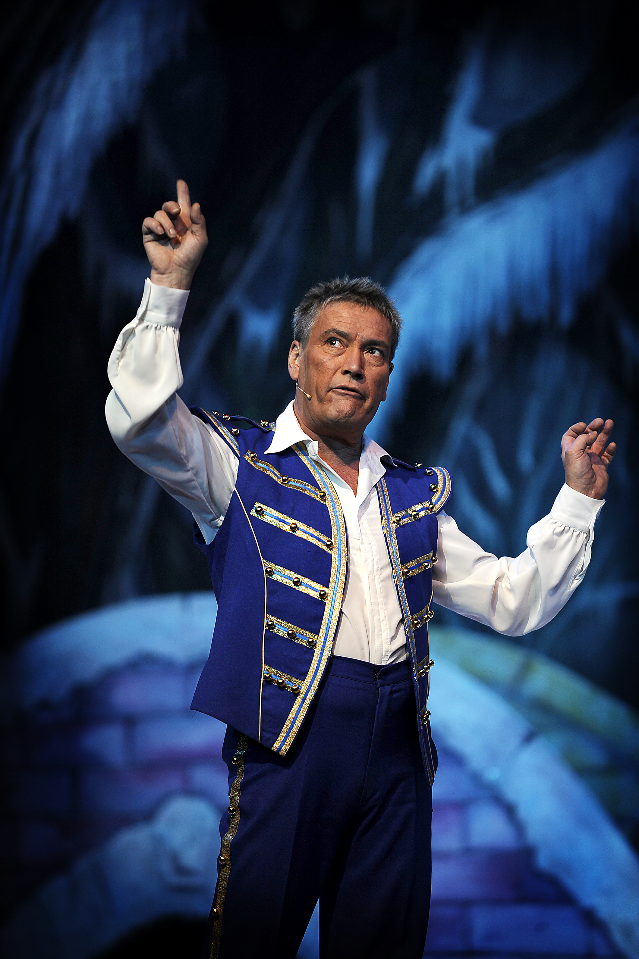 Billy Pearce in Cinderella at the Alhambra