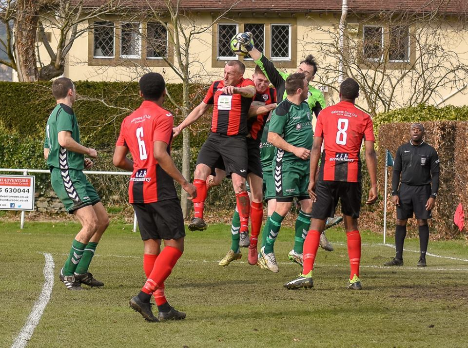 Campion Reserves, seen in action at Steeton, are one of five teams to be leaving the West Riding County Amateur League for the West Yorkshire League Picture: John Chapman
