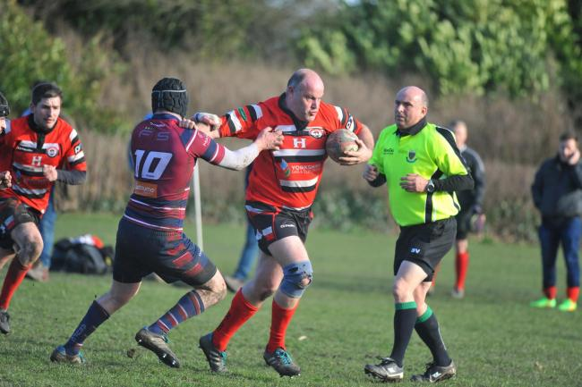 Baildon veteran Phil Wilson played for 80 minutes at Thornensians