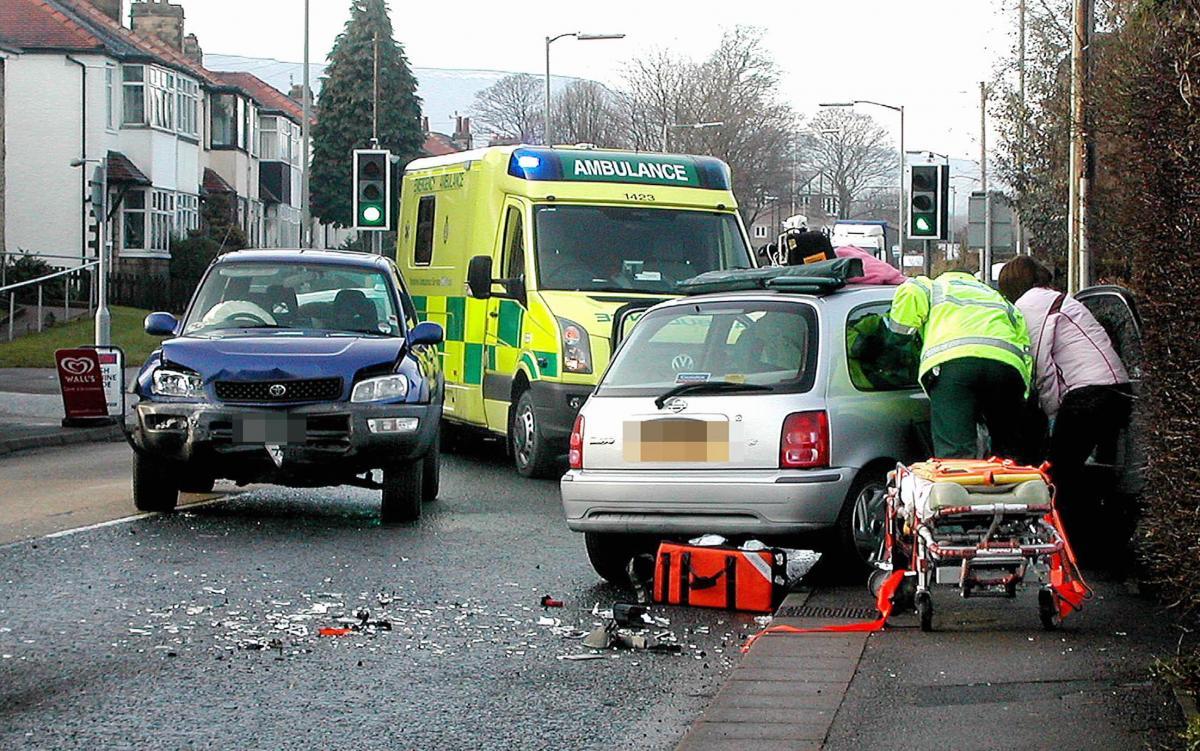smash closes leeds road in ilkley | bradford telegraph and argus