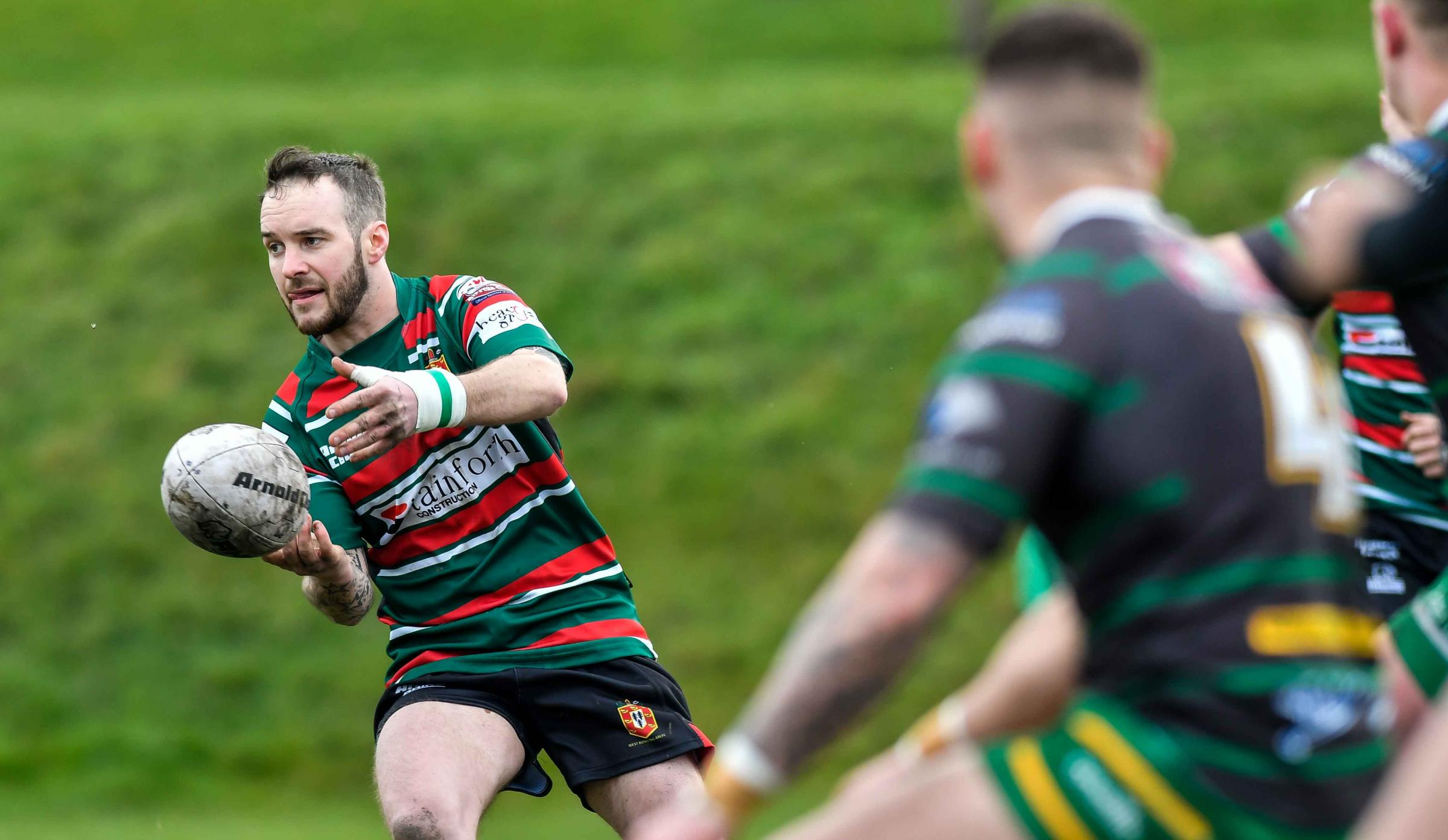 Liam Darville scored a try for West Bowling in their home defeat against Hull Dockers