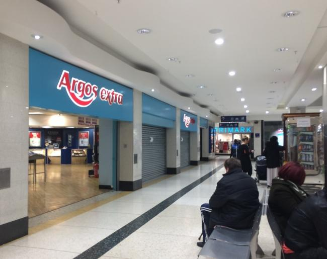 the argos extra in the kirkgate shopping centre