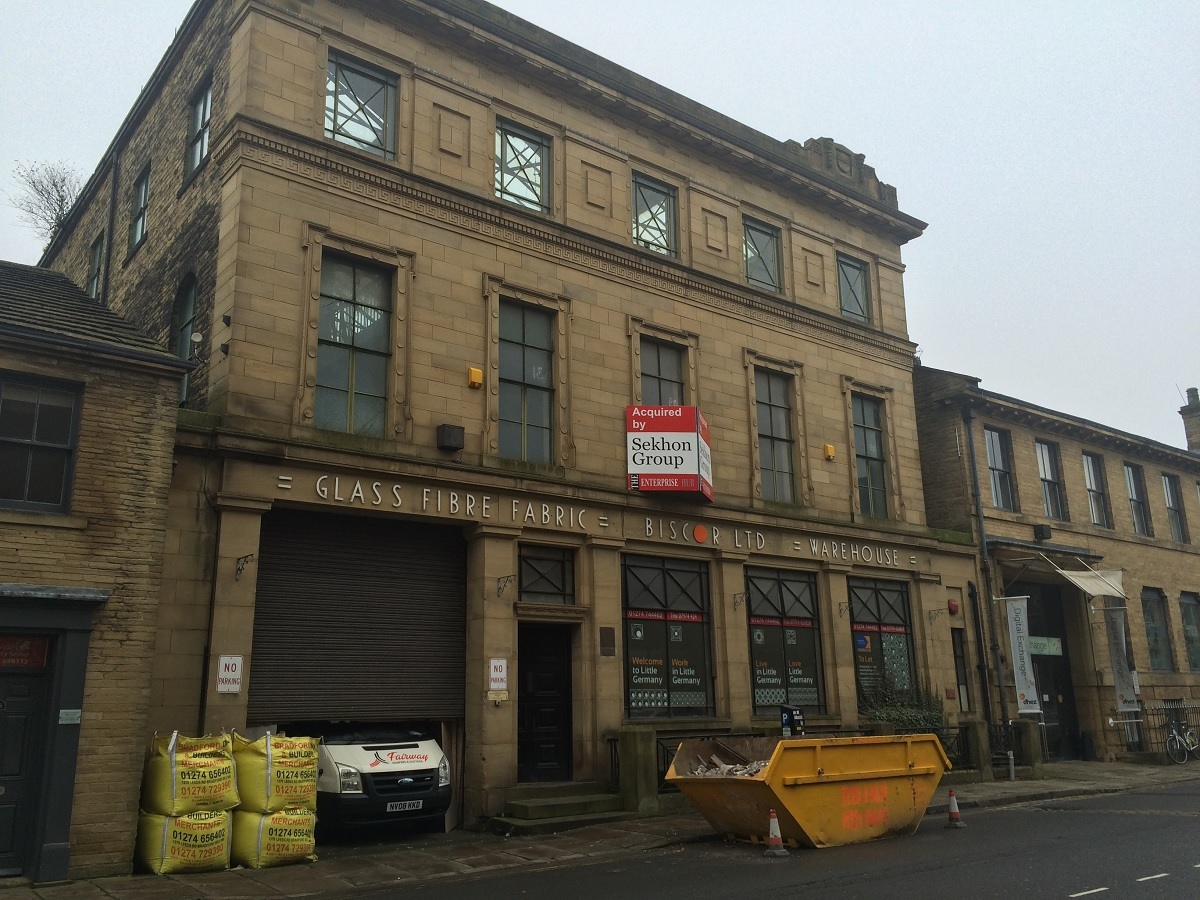 The Little Germany building that will become a restaurant and takeaway