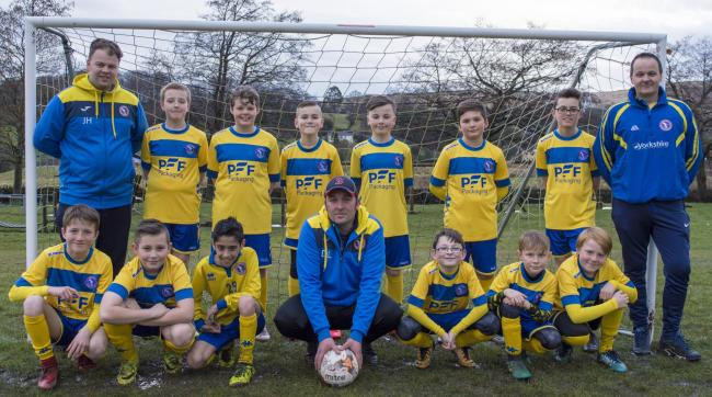 Eldwick Juniors FC Under 11s Hawks