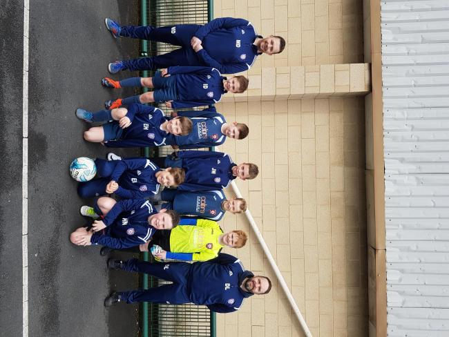 Idle Juniors Lions U10s