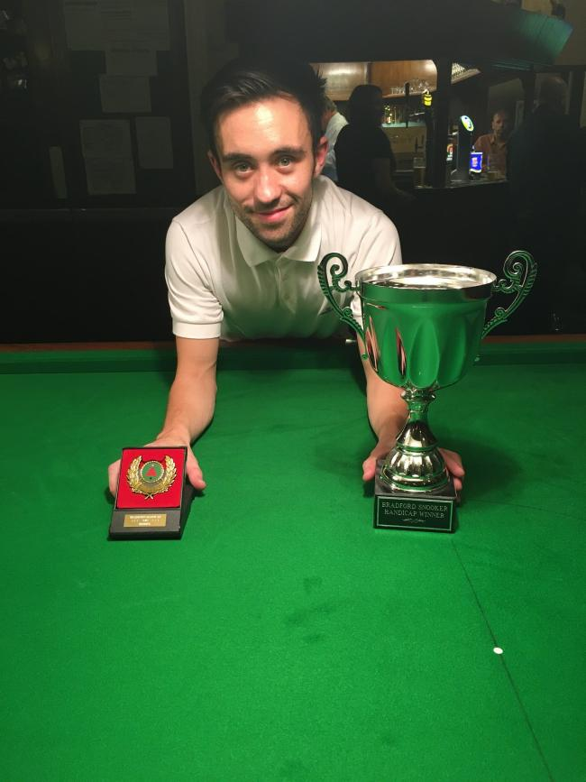 Gareth Green is eyeing a fifth Bradford Snooker Championship title