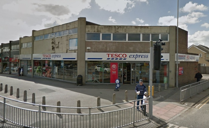 The Tesco on Otley Road - picture from Google Street View