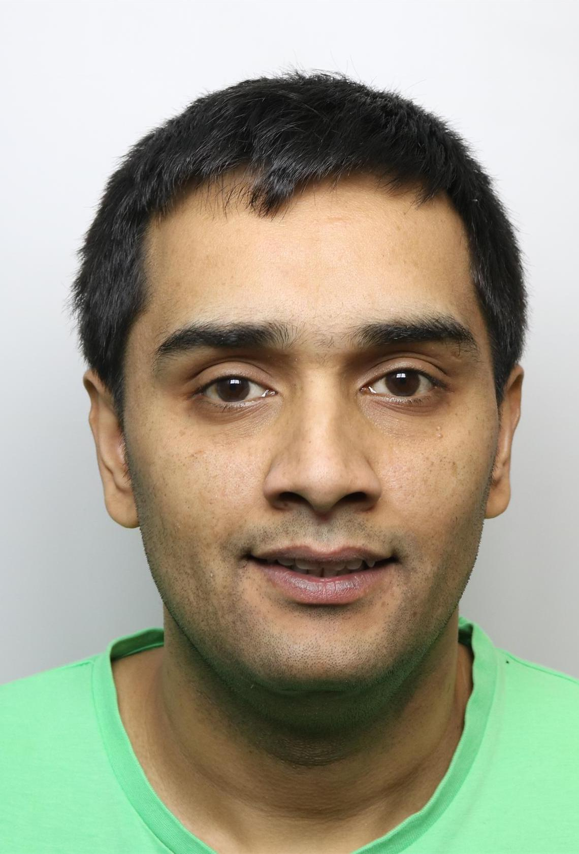 Mohammed Junaid, 30, was jailed for six years after being caught with drugs with a street value of more than £160,000