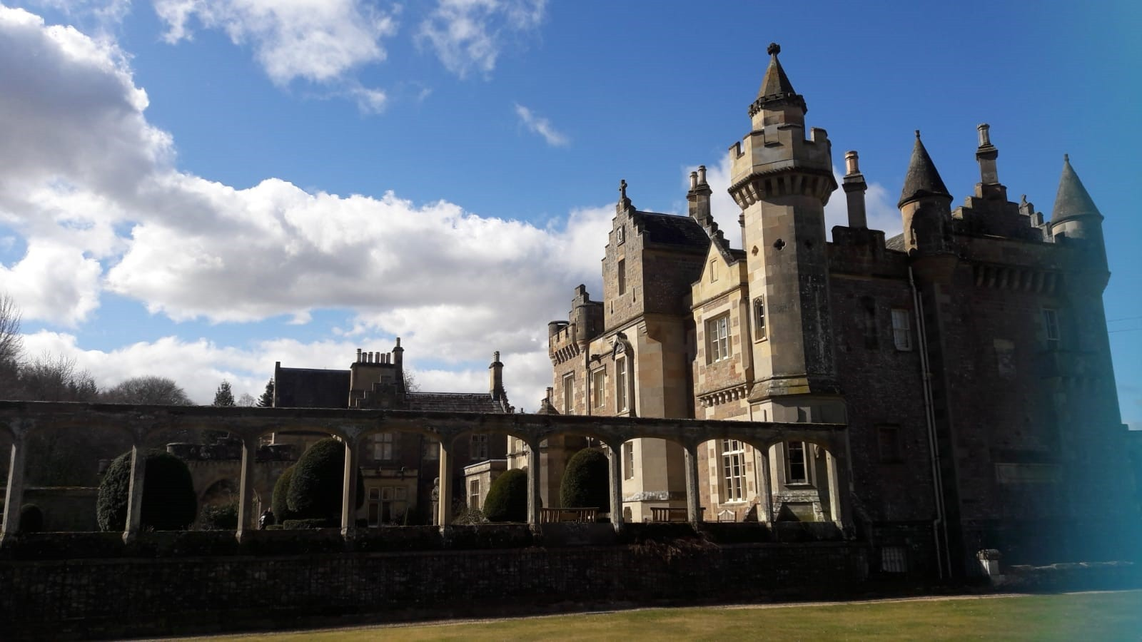 Abbotsford, the home of Sir Walter Scott