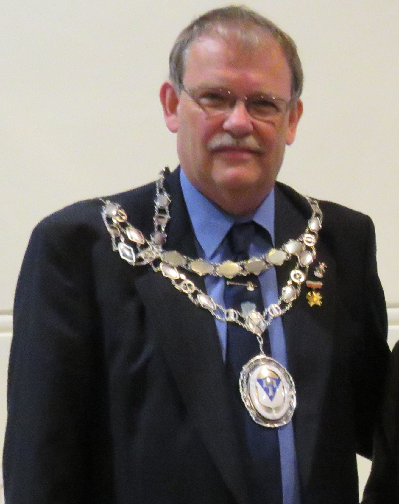 Otley's outgoing Town Mayor, Councillor Nigel Francis, has raised more than £31,000 for charity