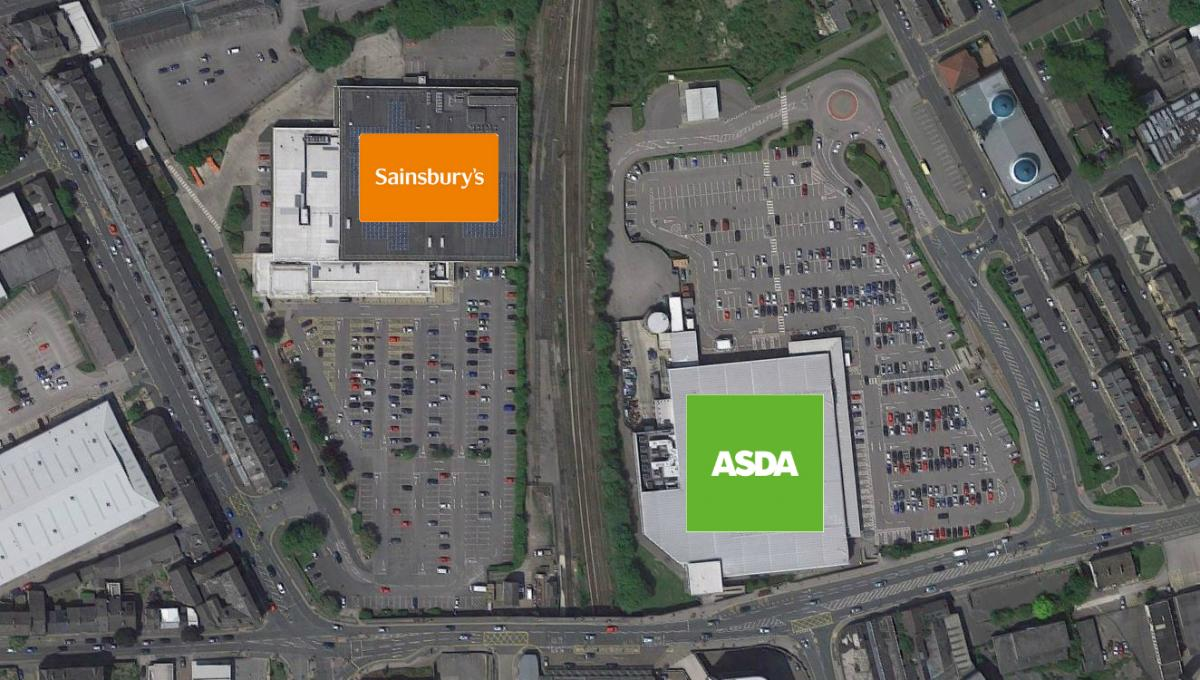 sainsburys and asda merger sparks store closure fears bradford