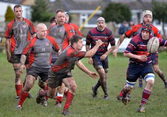 Baildon scrum half Robbie Hill scored one of their three tries at Sheffield Medicals