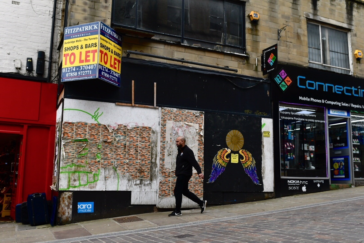 A vacant shop on Ivegate is being transformed into a new bar, called Bar 39, with help from the Council's growth scheme