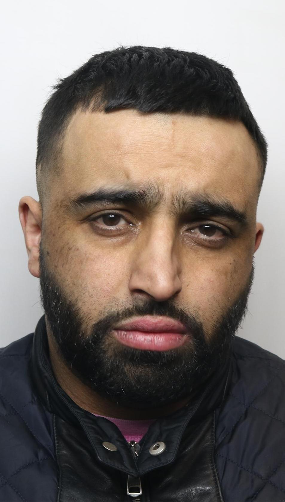 Imran Khaliq, 39, who was given a 12-year jail term in his absence at Bradford Crown Court