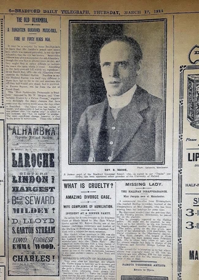 Bradford Daily Telegraph Thursday March 19 1914