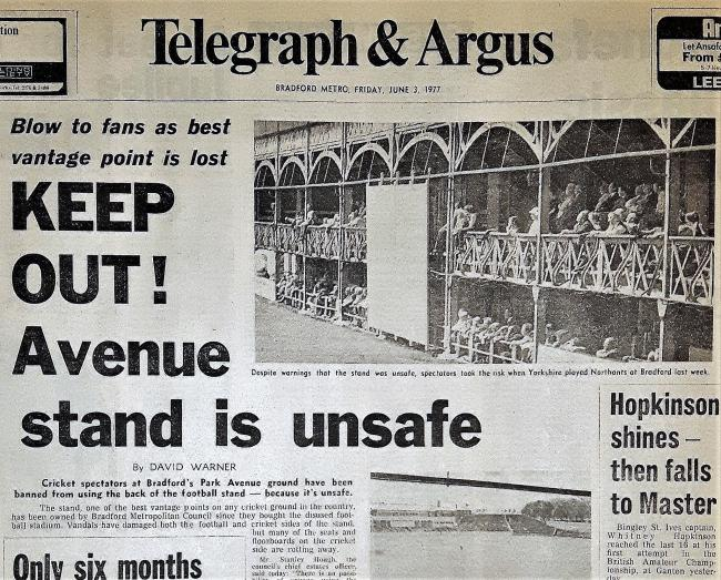 Telegraph & Argus Friday June 3 1977