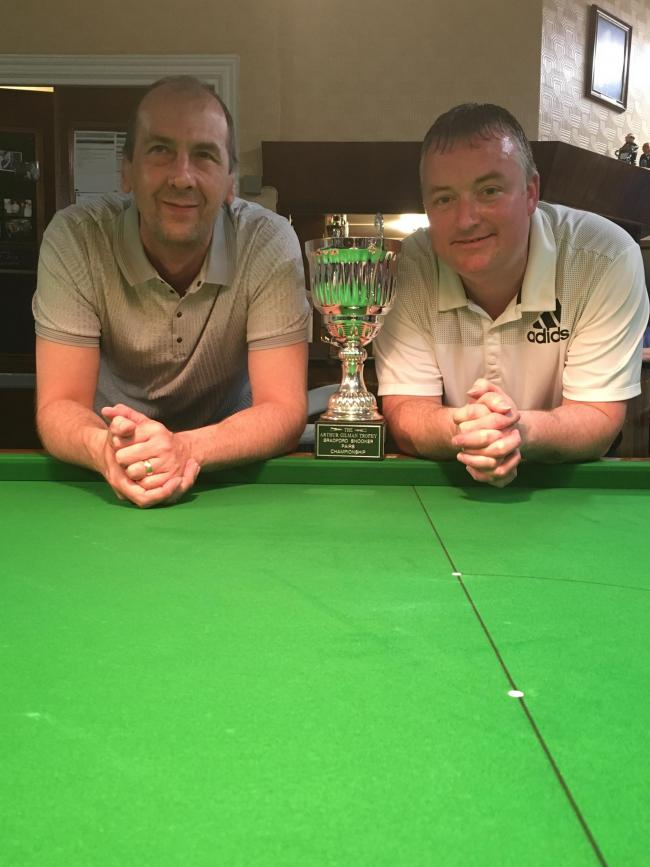 Kevin Firth and Wayne Cooper have been crowned Bradford Pairs champions