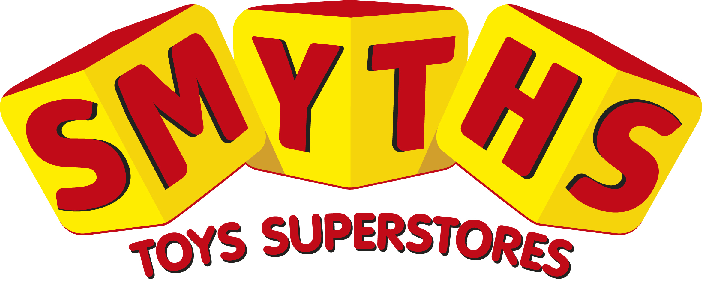 Bradford Telegraph and Argus: Smyths Logo Hey Lets Play CMYK