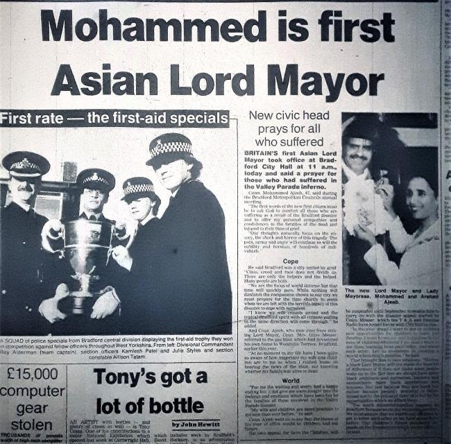 Telegraph & Argus Tuesday 21 May 1985