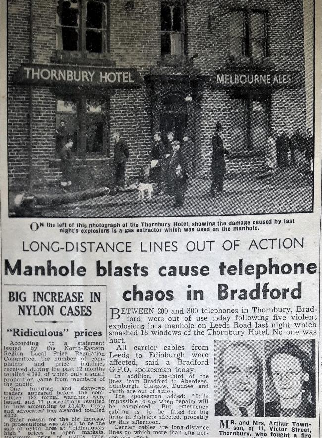 Telegraph & Argus Wednesday, 21 January 1952