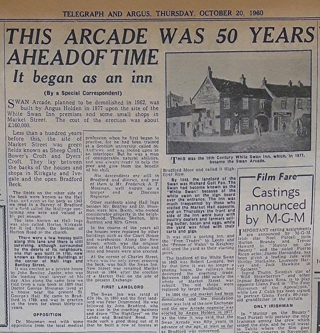 Telegraph & Argus Thursday October 20, 1960