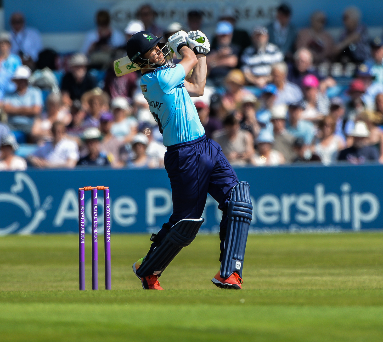 Tom Kohler-Cadmore's heavy run-scoring in the Royal London one-day Cup has led to a first call up to the England Lions squad Picture: Ray Spencer
