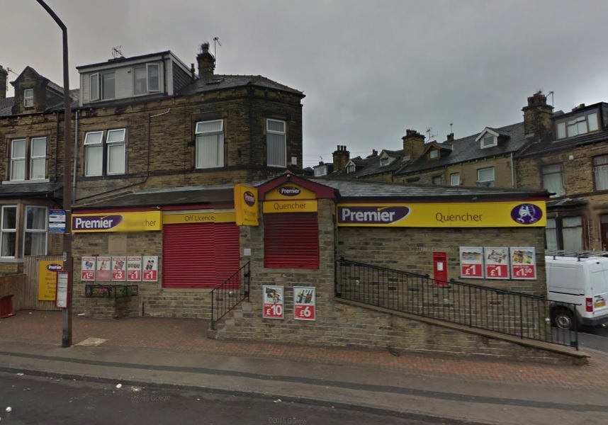 The Quencher store in Norman Lane. Photo: Google Maps Street View
