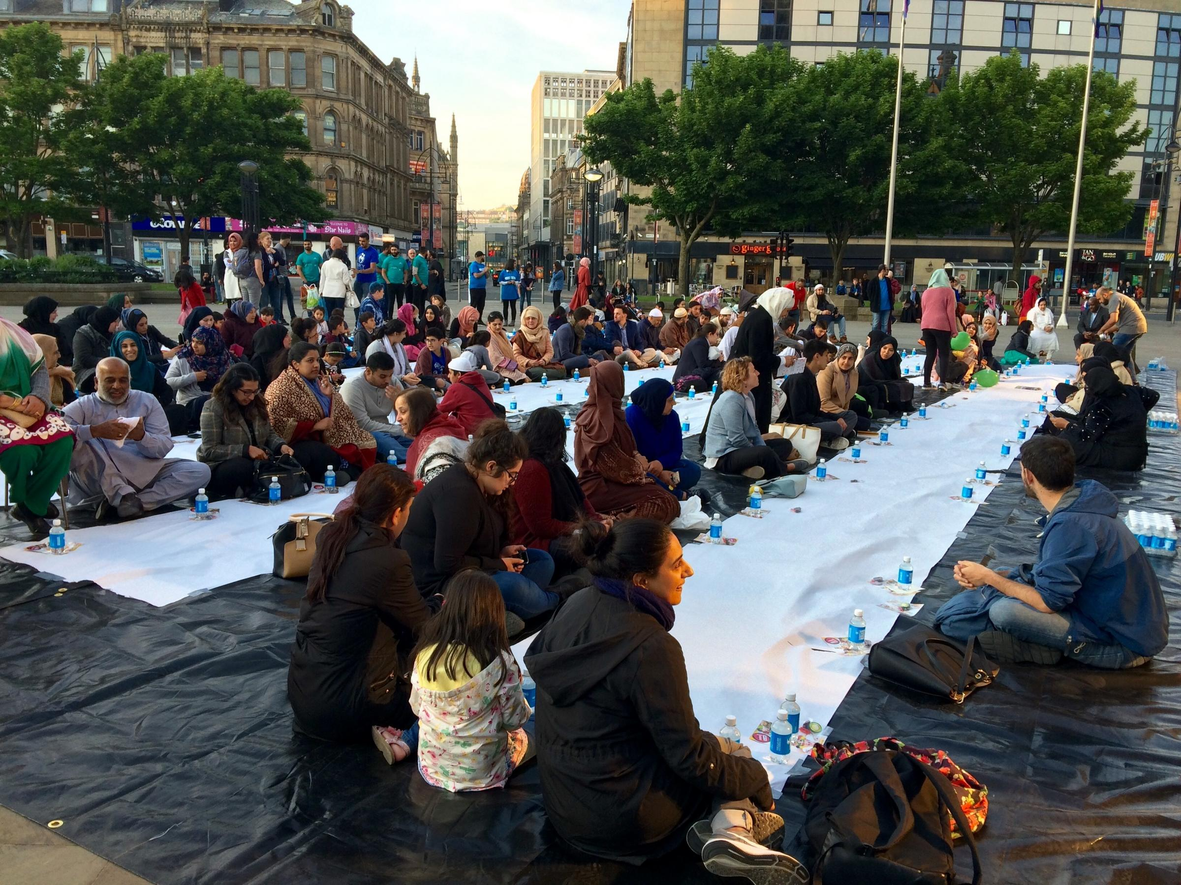 Open Iftar in Centenary Square