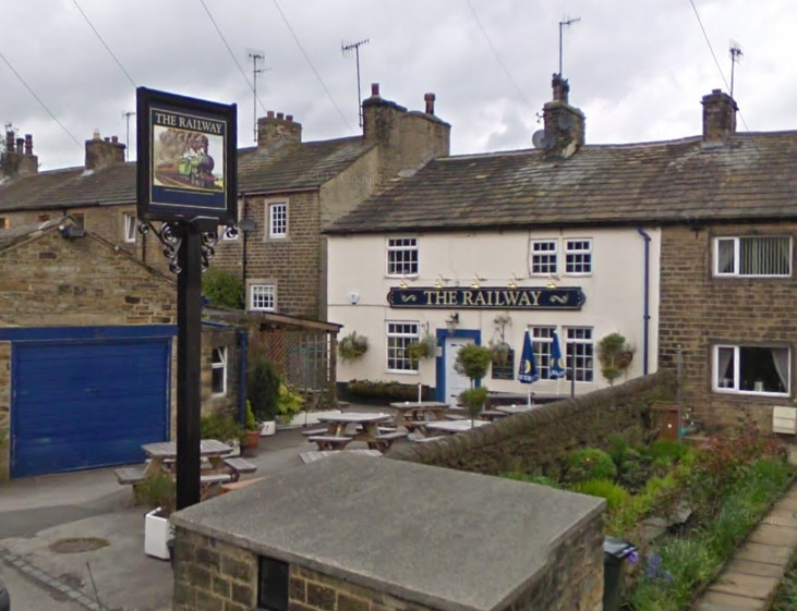 The Railway Inn in Cononley near Skipton. Picture: Google Maps