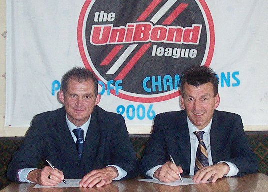 Lee Sinnott and John Deacey are renewing the formidable partnership they enjoyed at Farsley