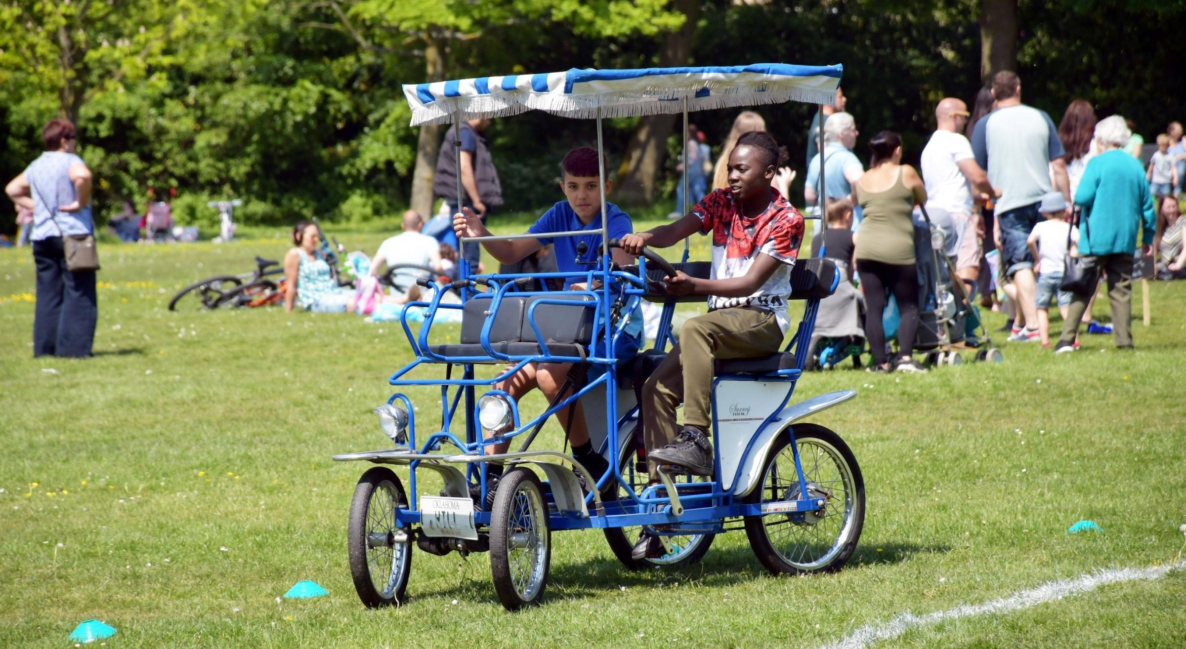 A fun activity day at Wibsey Park to get more people to enjoy more exercise. ...