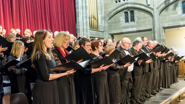 Bradford Festival Choral Society's programme spans the centuries
