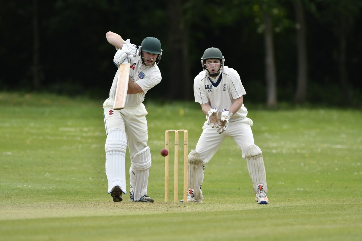 Josh Brooksbank scored a century for Harden the last time they played New Rover
