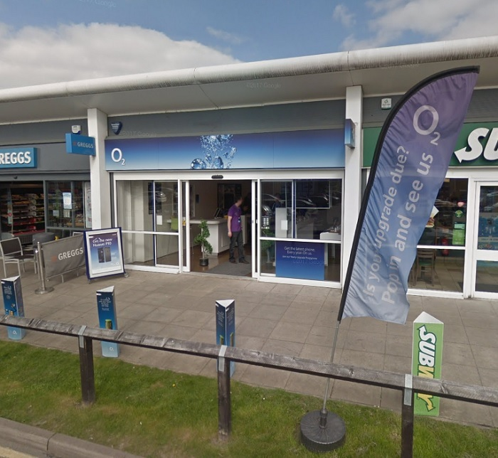 The O2 Store at the Forster Square Retail Park