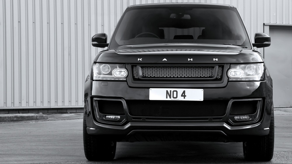 The number plate