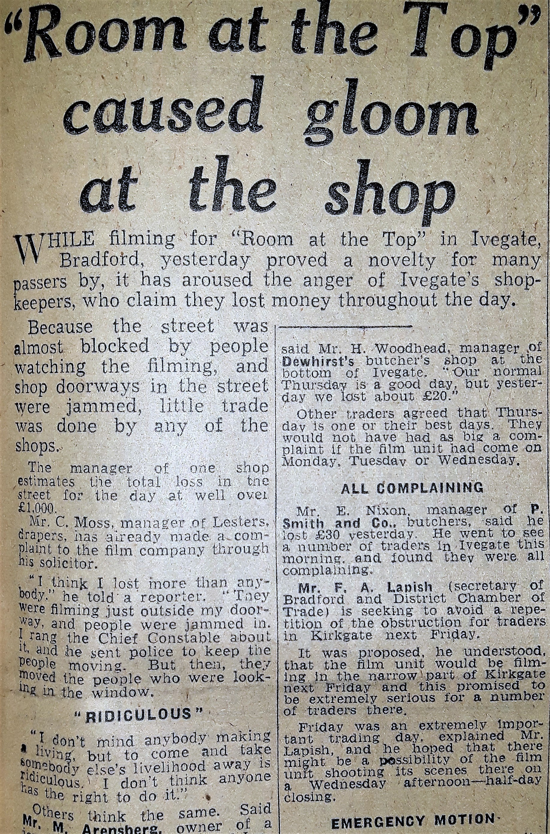 Telegraph & Argus Friday 6 June 1958