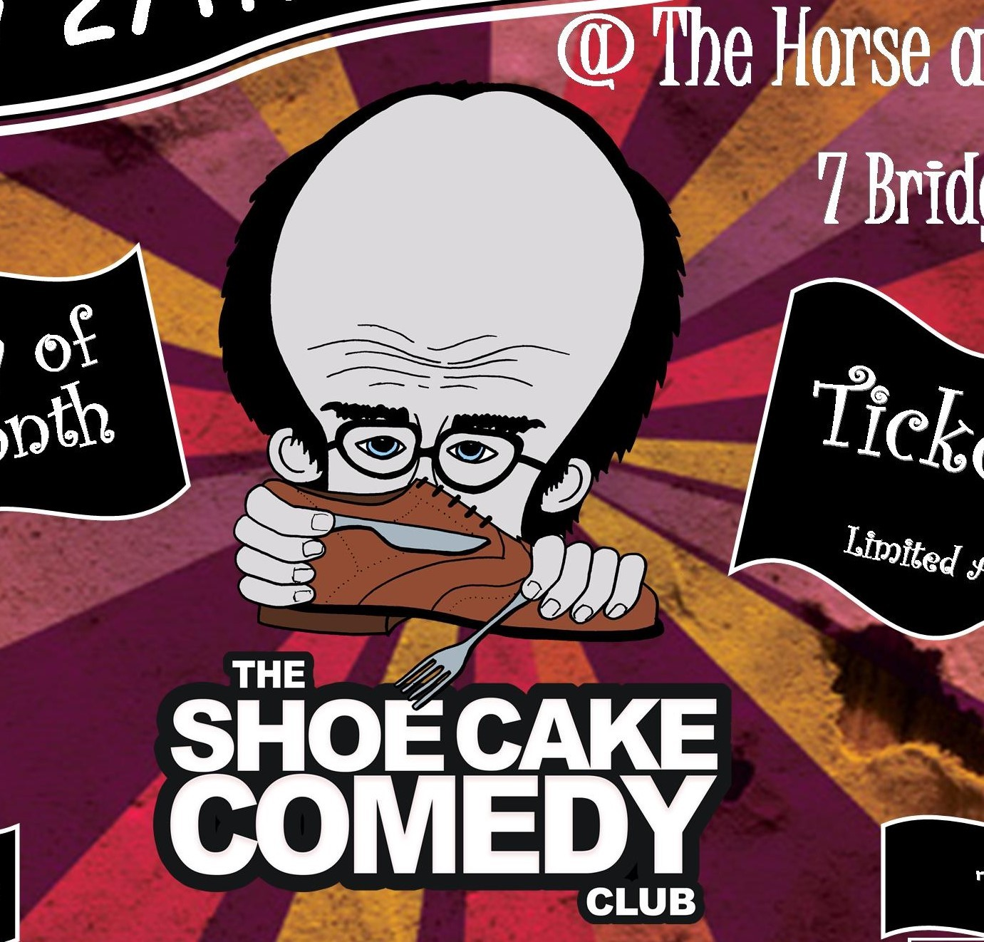 Shoe Cake Comedy Club nights at Otley have ended