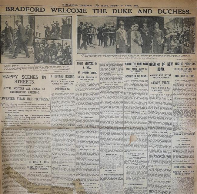 Bradford Telegraph And Argus Friday, 27 April 1928