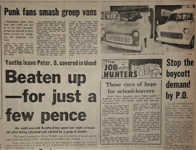 Telegraph & Argus Wednesday June 29 1977