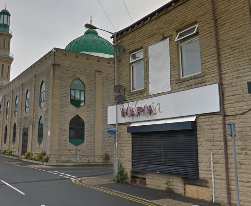 The proposed take away in Keighley - picture from Google Street View
