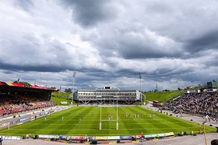 The game at Odsal is on today