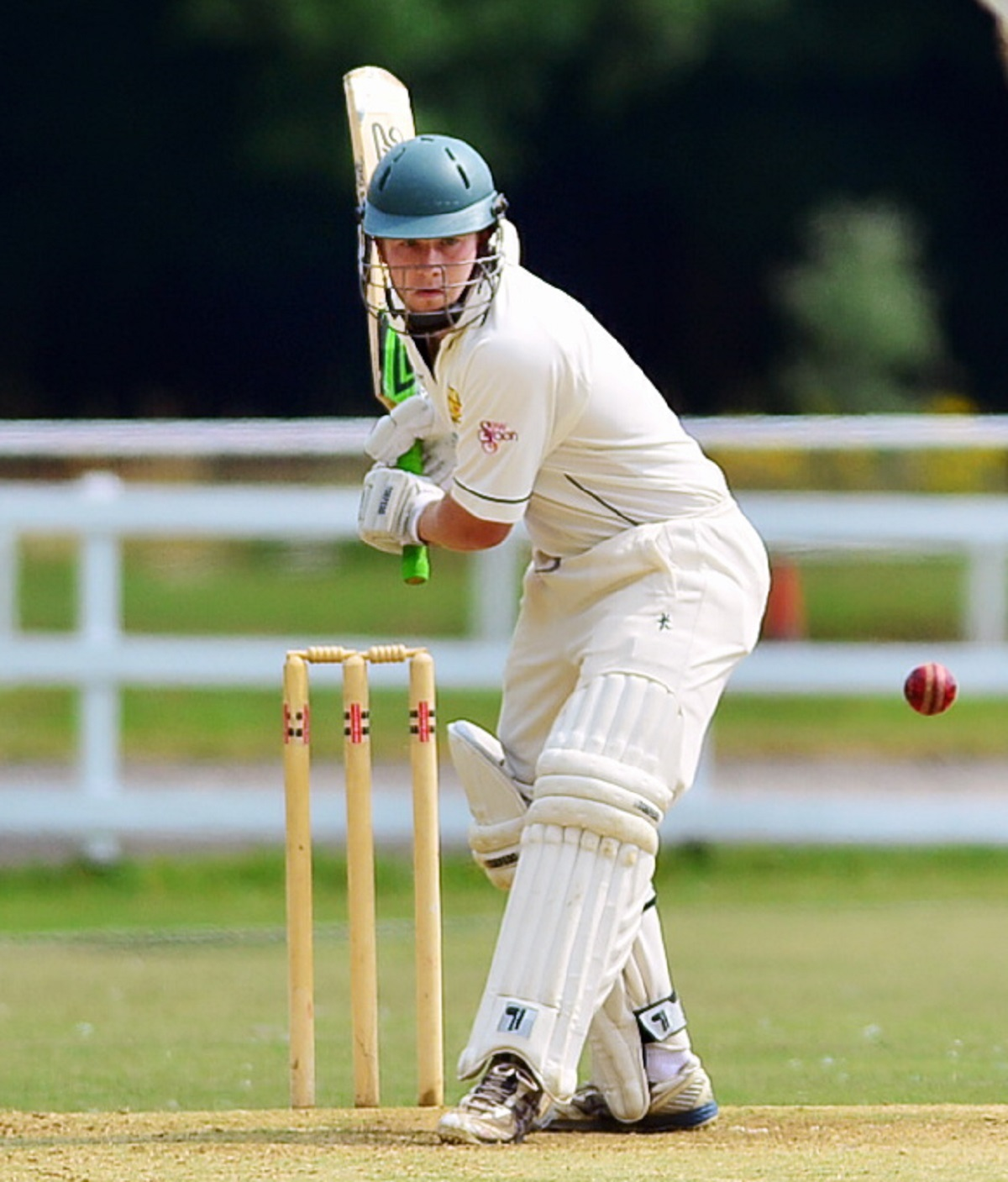Former Bradford & Bingley' batsman Ryan Cooper captained Farsley to a huge win over Lightcliffe last weekend Picture: Mike Simmonds