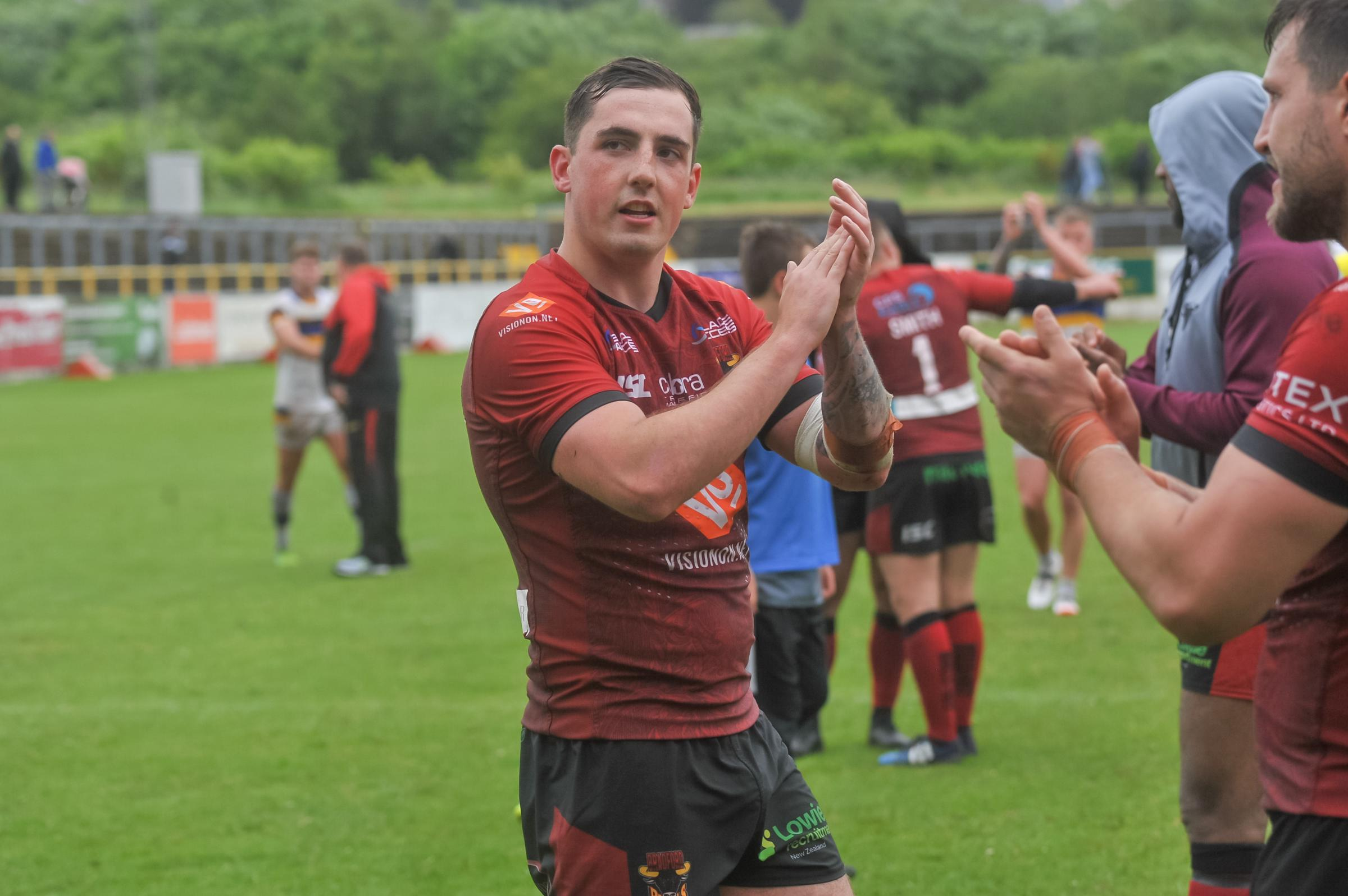Few would disagree that Brandon Pickersgill has been Bulls' most improved player in 2018   Pictures: Tom Pearson