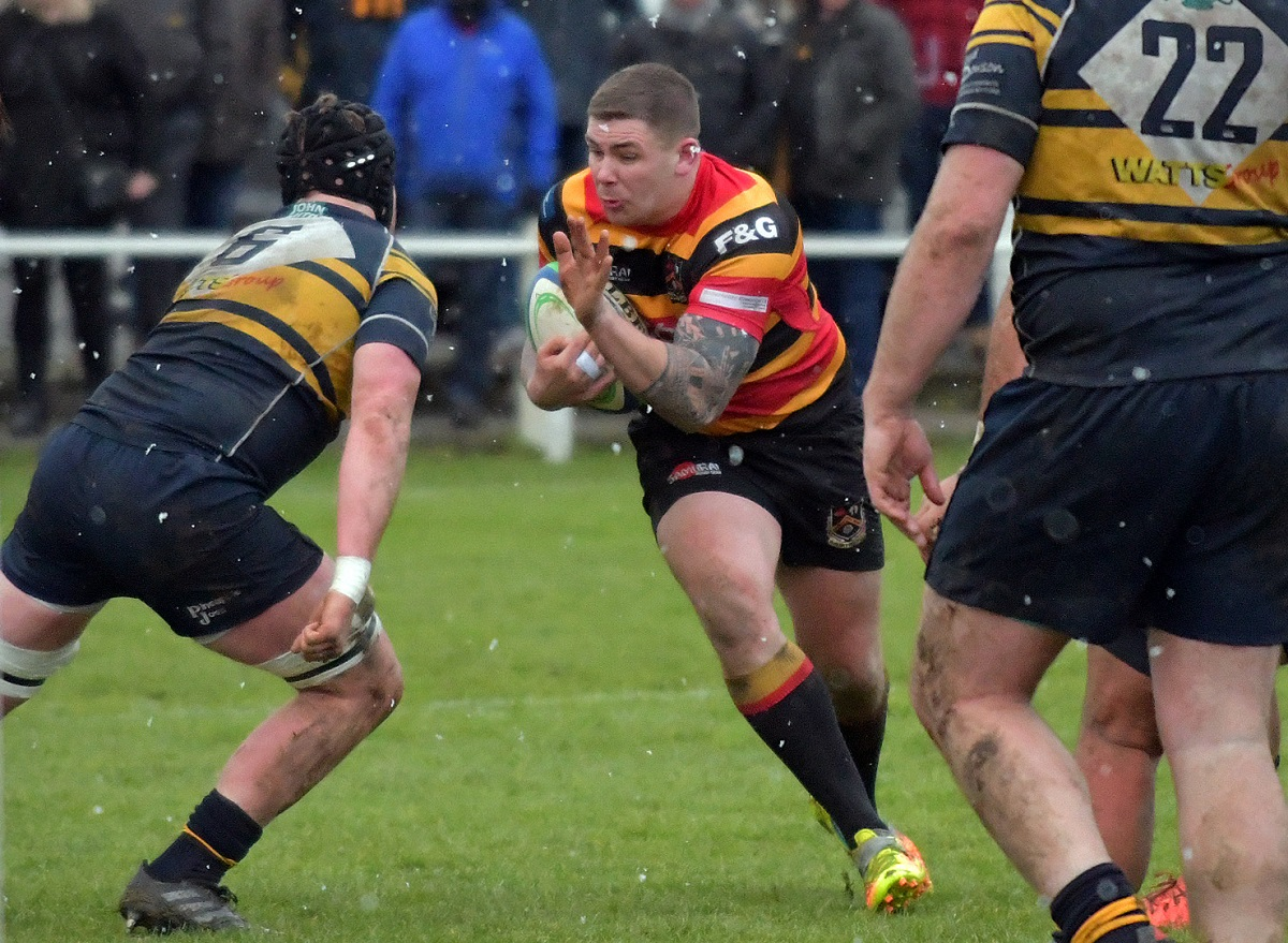 Andy Walker scored a try and was sin-binned for Bradford Dudley Hill