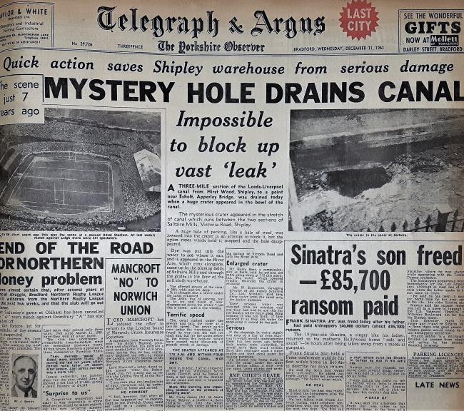 Telegraph & Argus Wednesday December 11, 1963