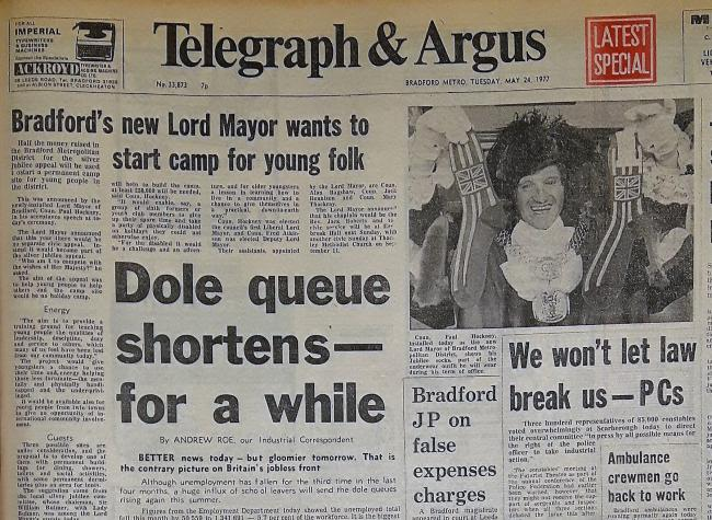 Telegraph & Argus Tuesday, May 24, 1977